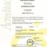 Certificado 17020